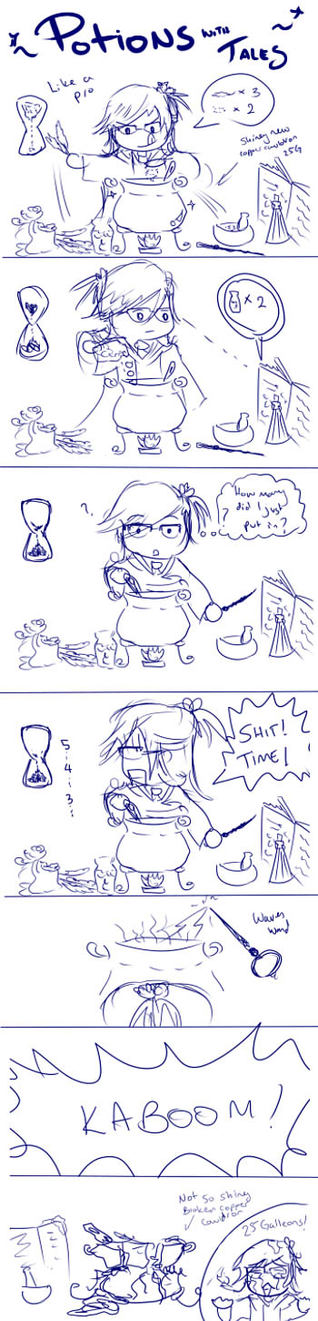 PM-Potions with Tales by talespirit