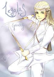 Prince Legolas Greenleaf by talespirit