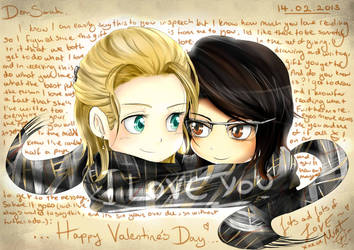 To my best friend...Happy Valentine's Day 2013 by talespirit