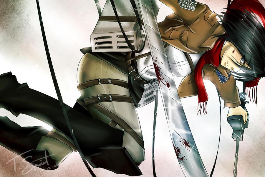 Mikasa Ackerman by talespirit