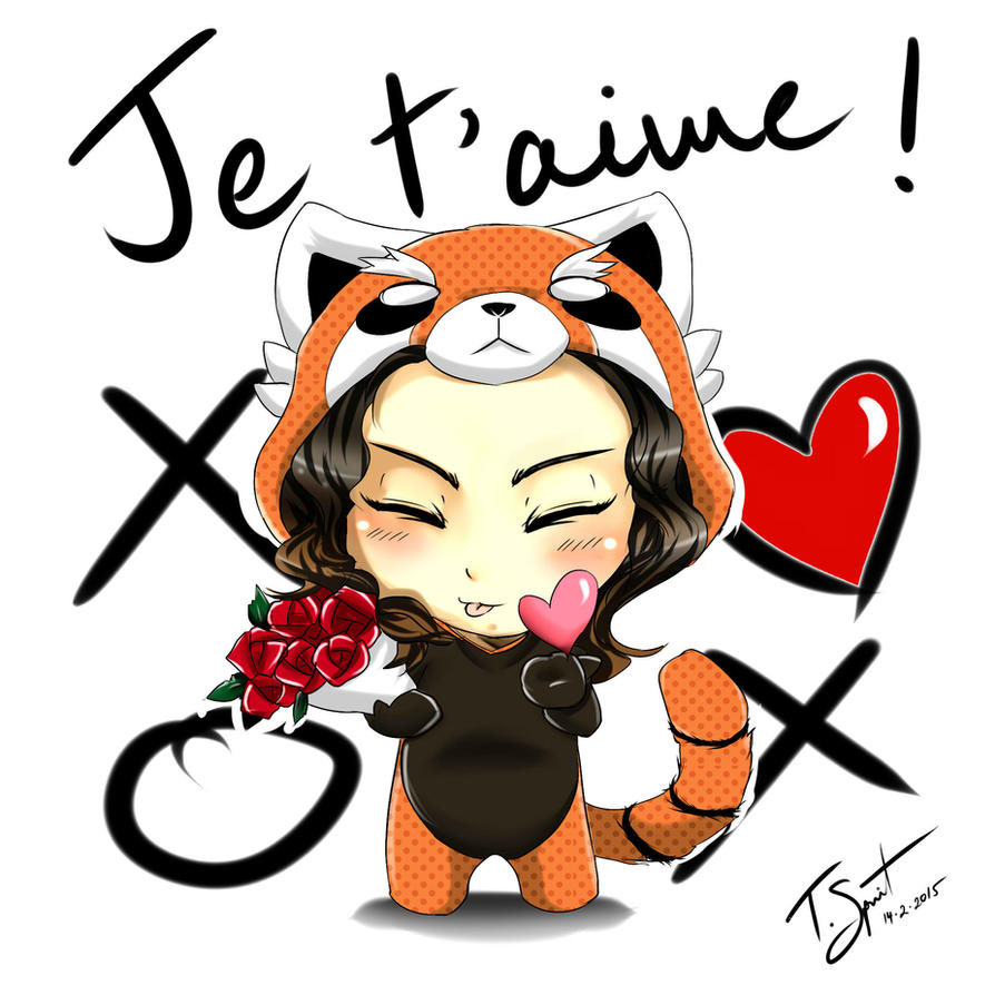 Je t'aime - Happy Valentines 2015 by talespirit