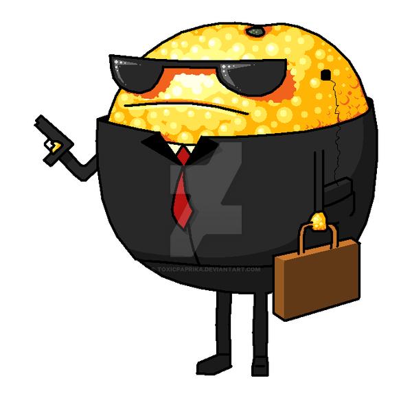 Bodyguard orange by ToxicPaprika