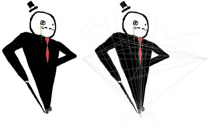 Gentleman + lines