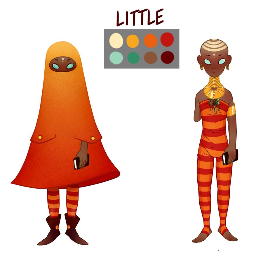 Little - Character Design by JonasVelani