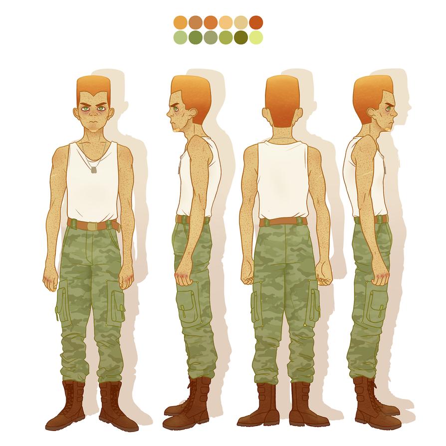 Cadet Character Sheet by JonasVelani