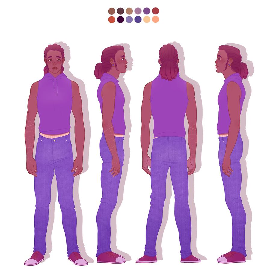 Gabriel Character Sheet by JonasVelani