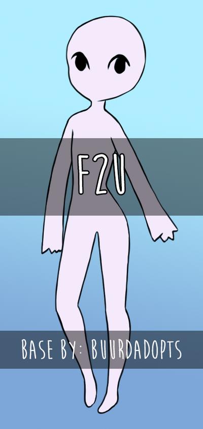 F2U || Base #01 by BuurdAdopts