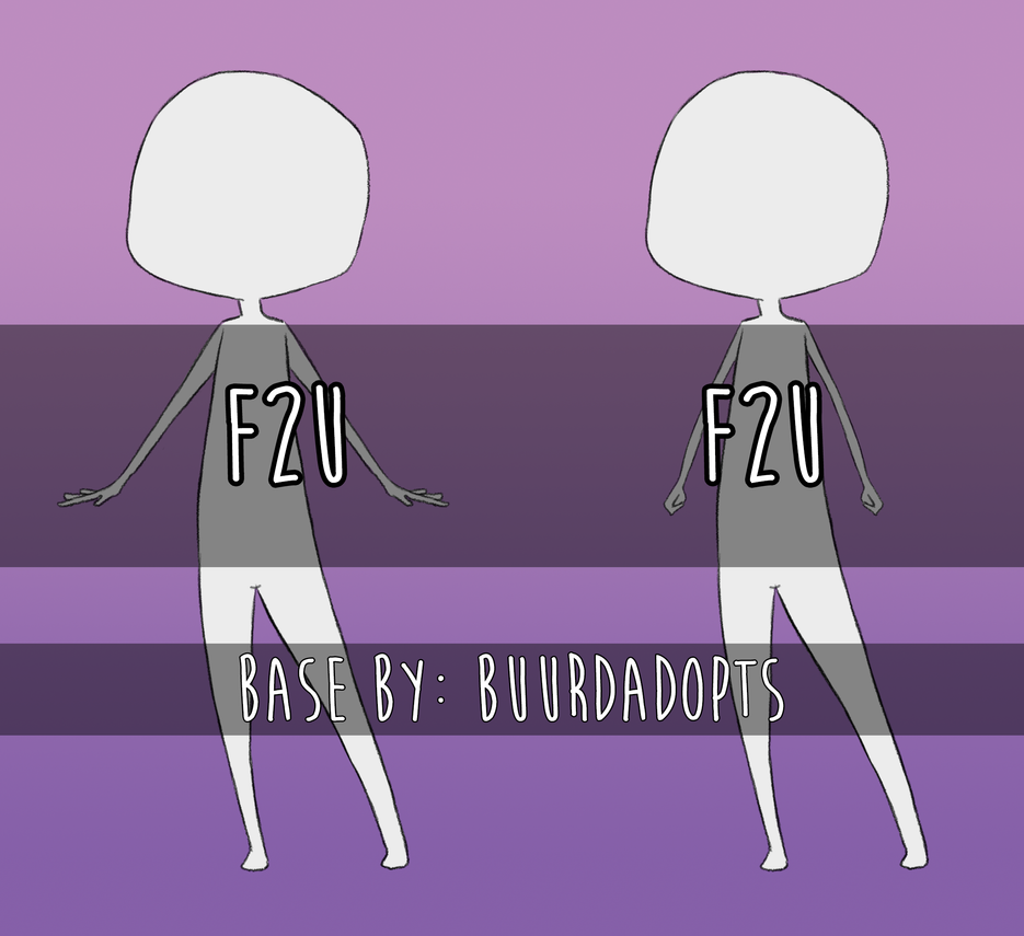 F2U || Base #02 by BuurdAdopts