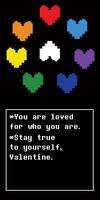 Undertale Valentine-Not One Soul