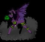 Remembrance Halloween Pony #2 ~CLOSED~ by PygmyOwls