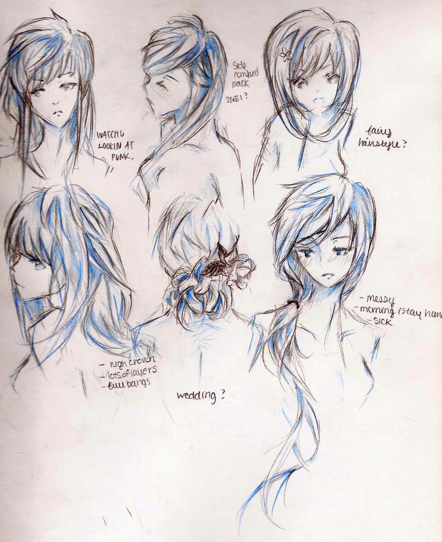 Anime Girl Haircuts