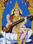 Saraswati by dell126