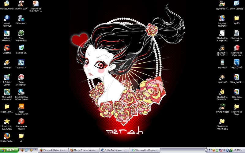 Merah is her name