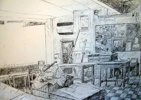 Classroom by Jonthearchitect