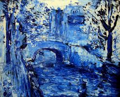 Blue Amsterdam by Jonthearchitect