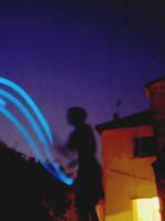 Night Juggling by Jonthearchitect
