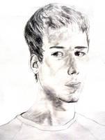Self Portrait, Age 19 by Jonthearchitect