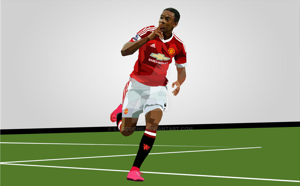 Le Prodige - Anthony Martial by SJ-Designs on DeviantArt on