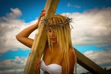 Modern female Christ