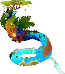 Earth Dragon - Contest Entry by Kingfisher-Gryphon