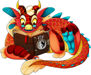 RPR Mascot Contest - 2019 by Kingfisher-Gryphon