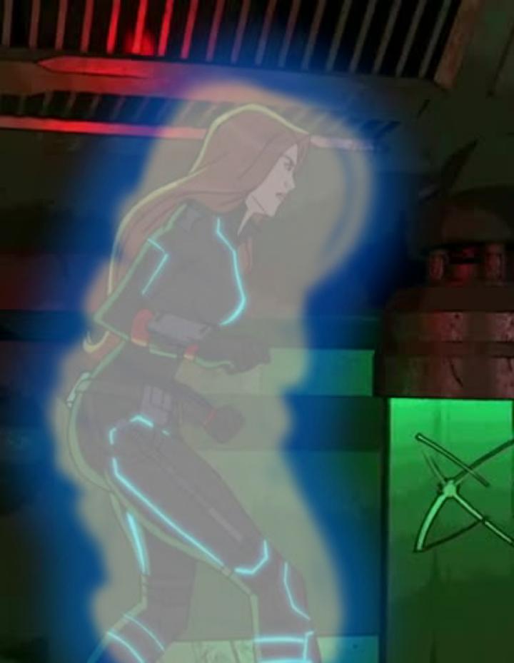 Black Widow freezes by KaijuBoy455