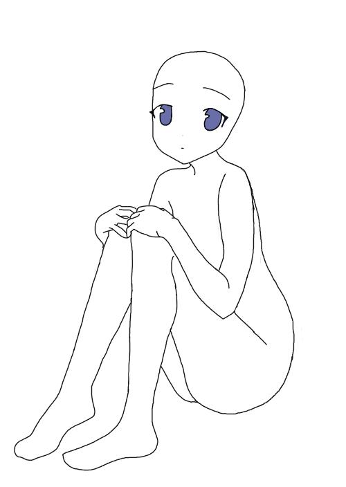 Aaa Careers Ca: Anime Girl Sit Base By Metalcookie528 On DeviantArt
