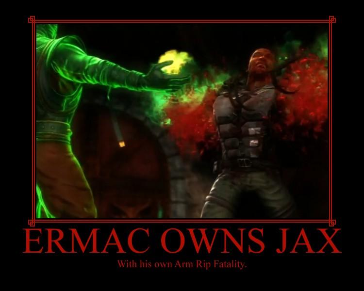 Ermac Owns Jax by IamSubZero