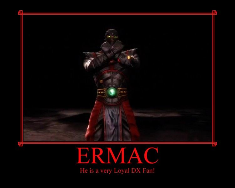 Ermac is a True DX Fan by IamSubZero