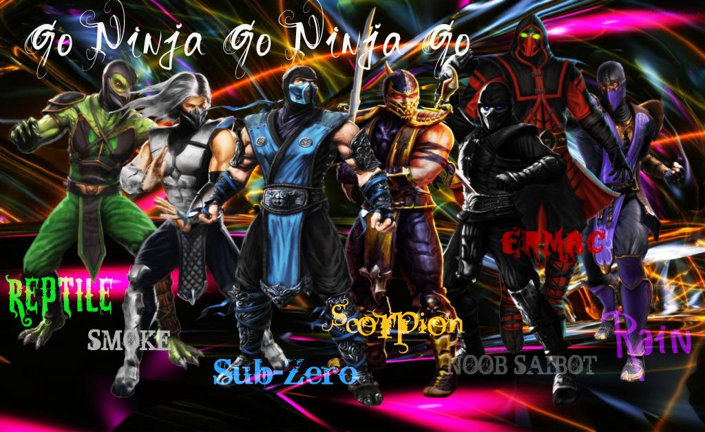 Go Ninja Go Ninja Go By IamSubZero On DeviantArt