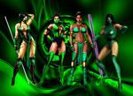Jade - Emerald Fighter