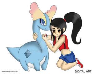 Amaura and I