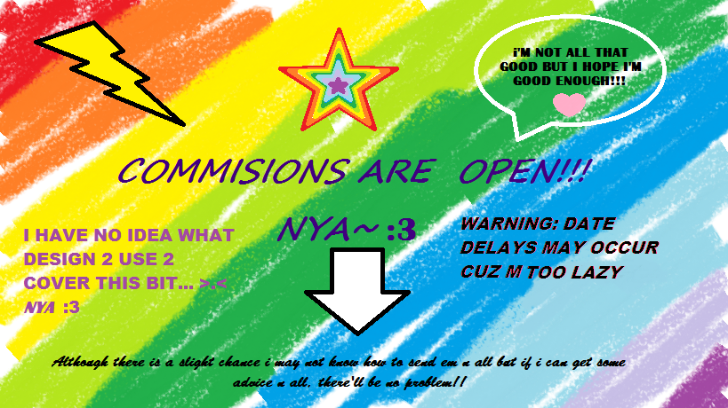 COMMISIONS R OPEN