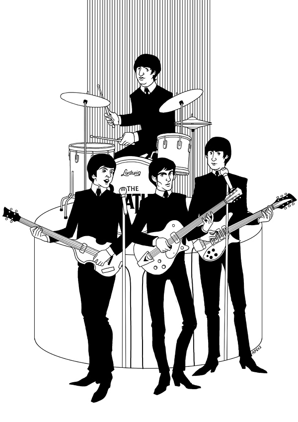 Beatles by Ap6y3