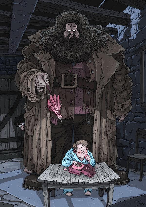 Hagrid by Ap6y3