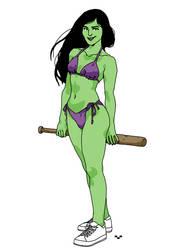 She Hulk by Ap6y3