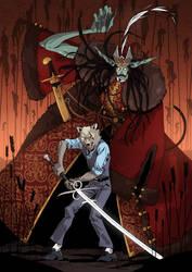 Wolf Helsing fanart by Ap6y3