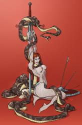 Snake by Ap6y3