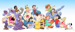 Penuts x Pokemon
