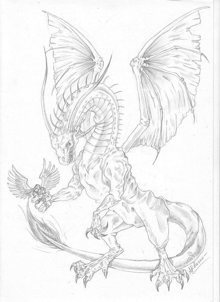 Dragon by Ap6y3
