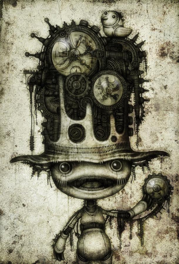 cuckoo clock by shichigoro756
