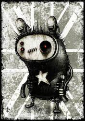 punk_hedgehog by shichigoro756