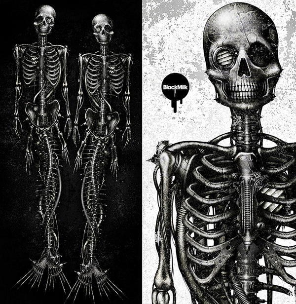 Mechanical Mermaid-bone by shichigoro756