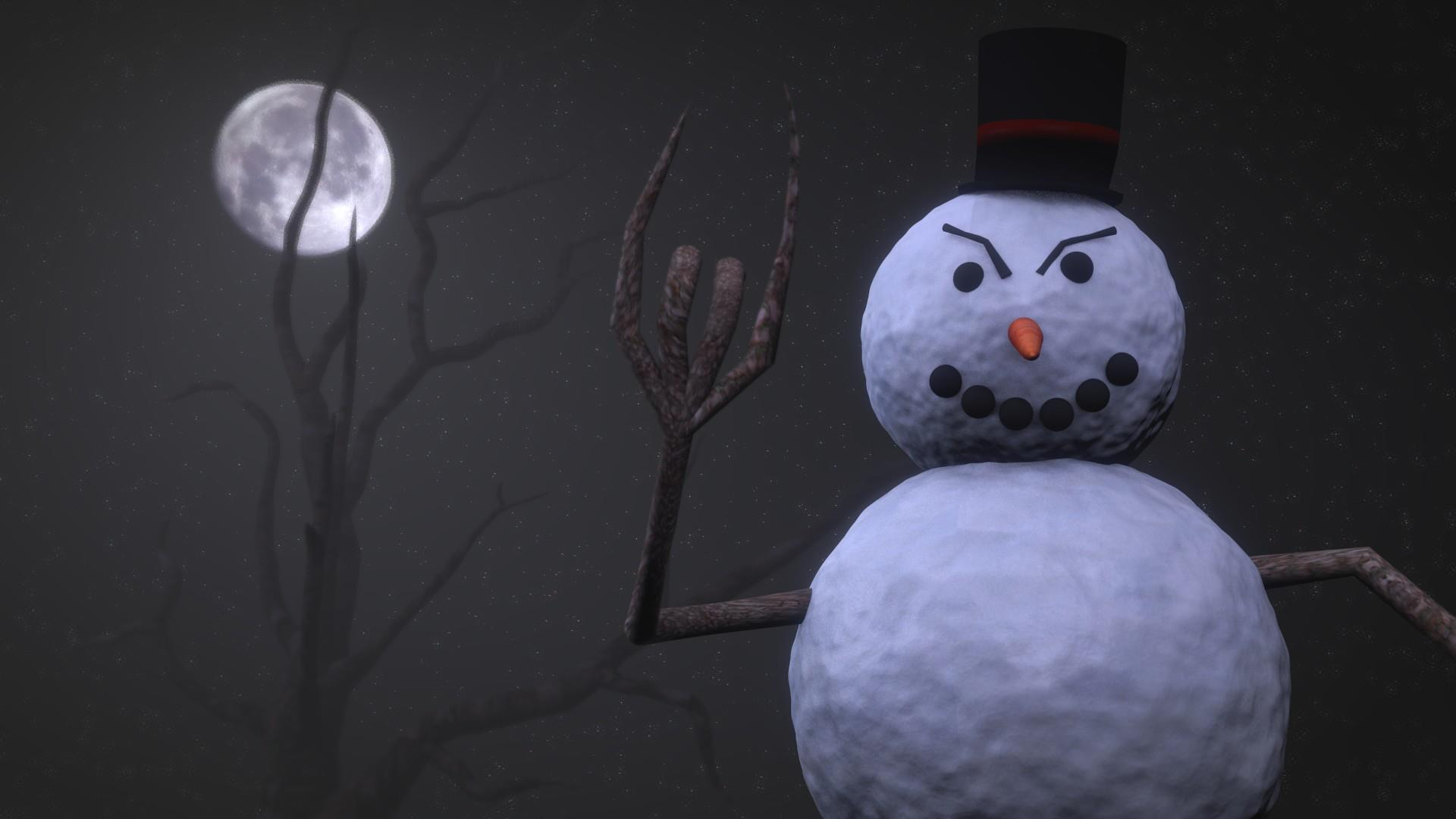 Angry Snowman by tobiasforsling on DeviantArt