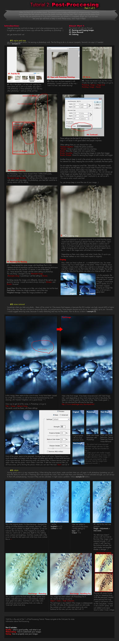 Tutorial 2: Post-Processing P1 by onixa