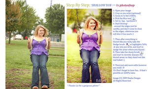 Step by Step- Shallow DOF