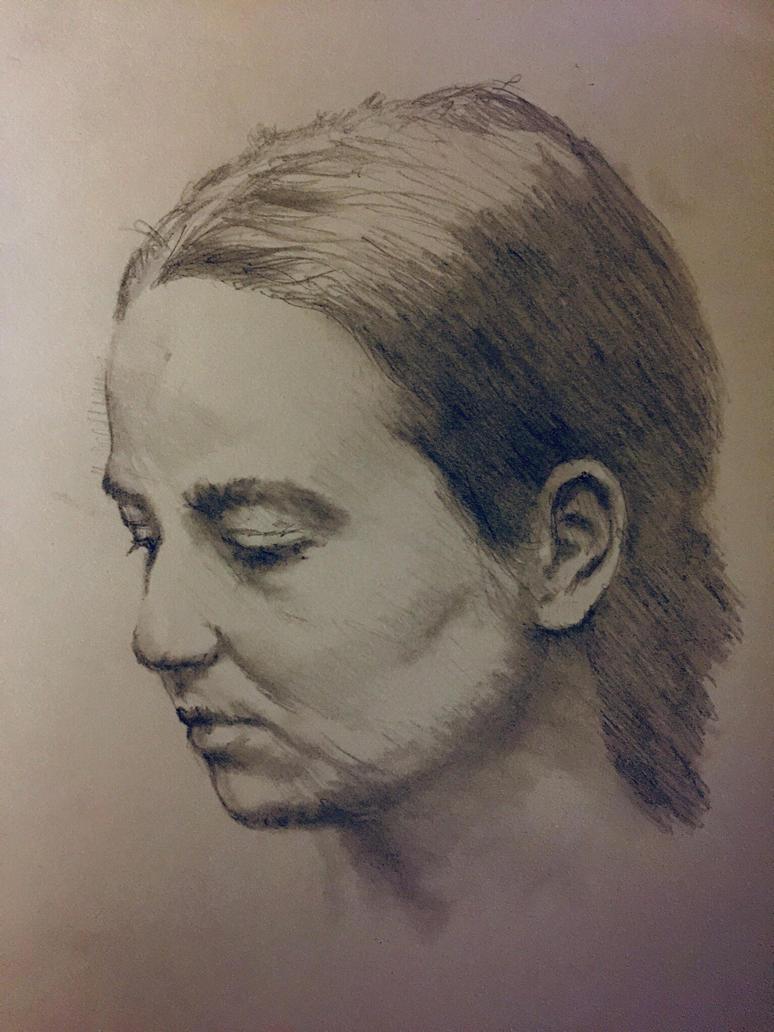 Pencil sketch 2 by ozwald007