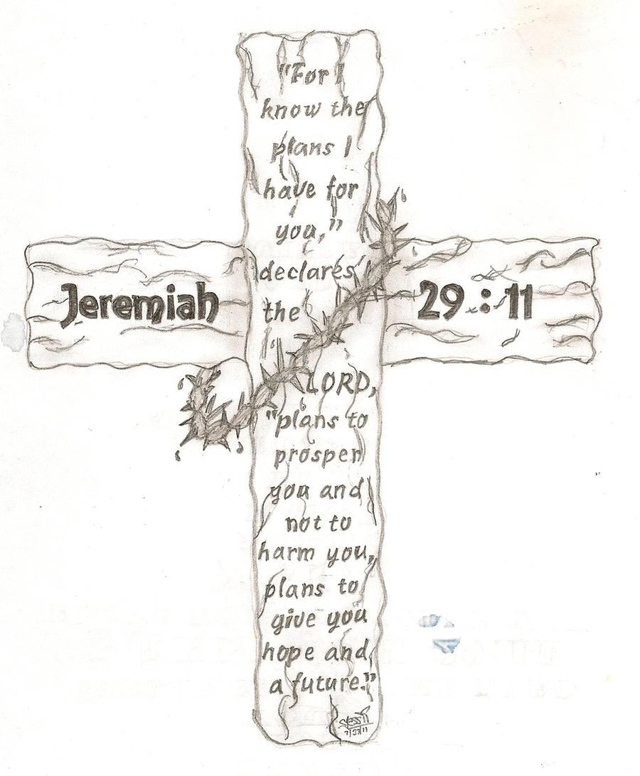 jeremiah 29 11 by nomoreroomtobreathe on deviantart. Black Bedroom Furniture Sets. Home Design Ideas