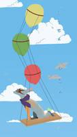 id: Balloon flying
