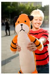Calvin and Hobbes 2: fanime09 by Morosi